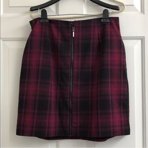 Torrid plaid skirt
